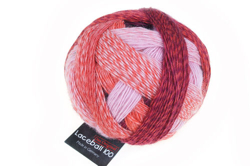 Lace Ball 100 #2305 Red to go