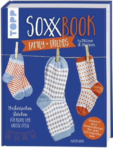 SoxxBook family + friends by Stine & Stitch