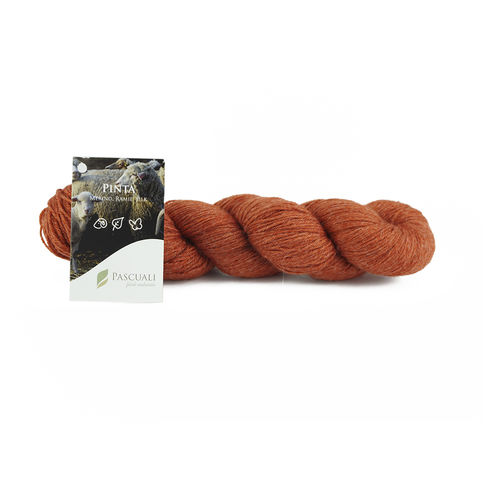PINTA STRICKWOLLE / SOCKENWOLLE 100g orange 08