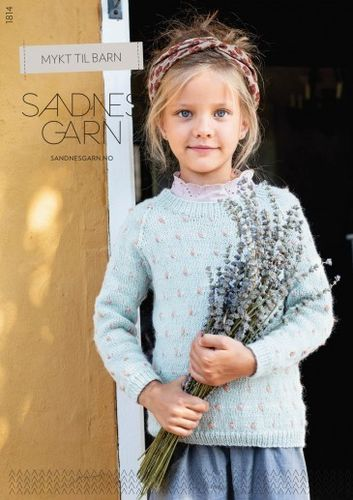 SandnesGarn #1814 SOFT FOR KIDS ENGLISH/GERMAN