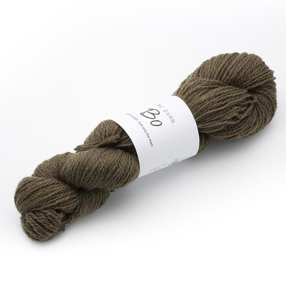 BO - ORGANIC WOOL NOT ONLY FOR MEN #12 Oliv